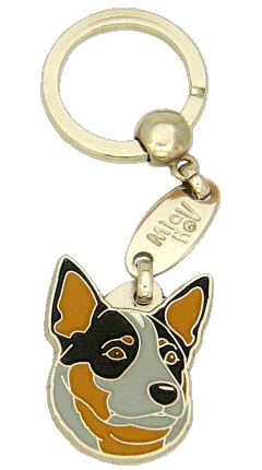 AUSTRALIAN CATTLE DOG BLUE - pet ID tag, dog ID tags, pet tags, personalized pet tags MjavHov - engraved pet tags online